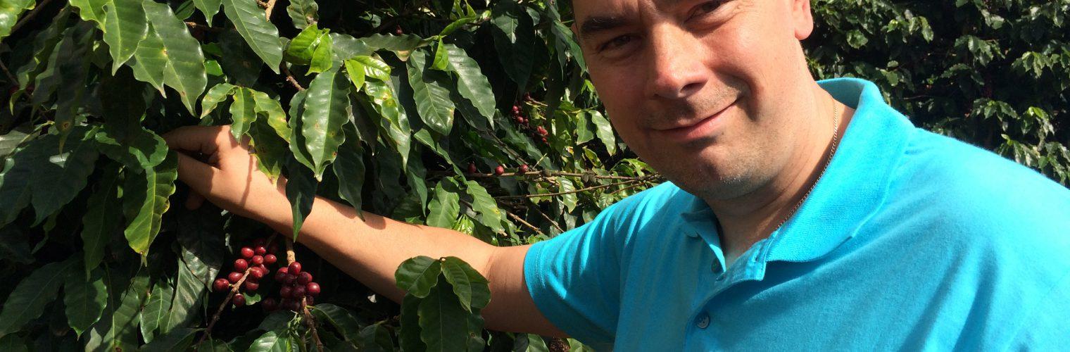 Być tam, gdzie rośnie kawa
